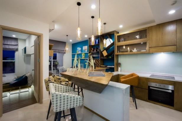 Thiết kế nội thất căn hộ 46 m2 ở quận Phú Nhuận, TP. HCM (6)