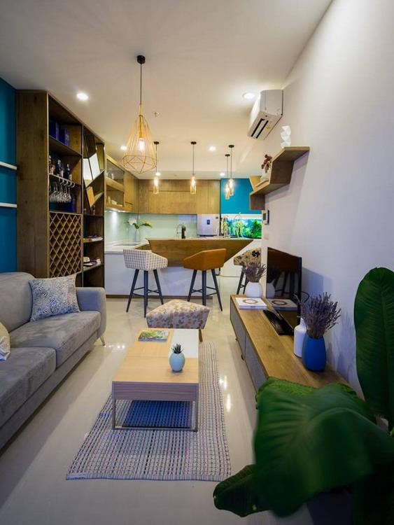 Thiết kế nội thất căn hộ 46 m2 ở quận Phú Nhuận, TP. HCM (8)