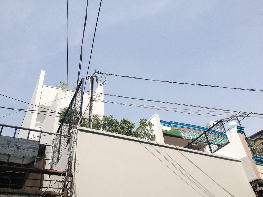 Vườn trên mái nhà phố ở quận 11, Sài Gòn (1)