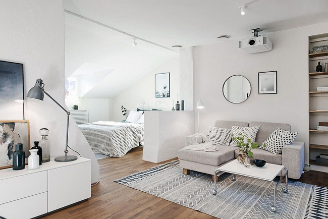 5 cách thiết kế phòng ngủ thoáng rộng (12)