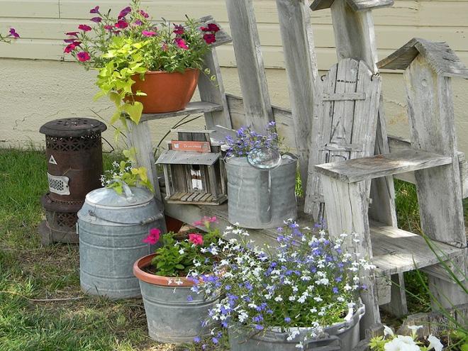 Bí quyết trang trí sân vườn đẹp (2)