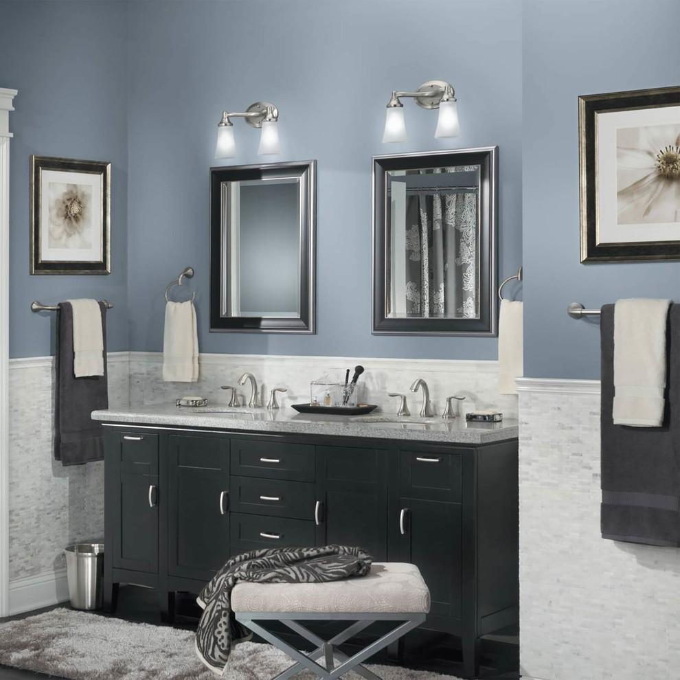 Các gam màu chuẩn cho không gian phòng tắm sạch sẽ và tươi sáng (1)
