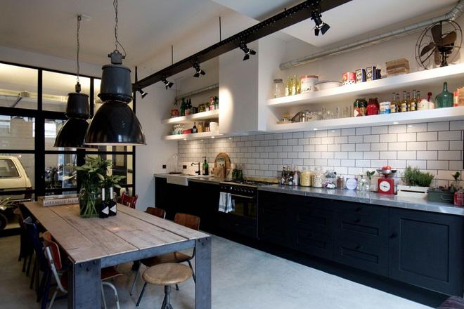16 thiết kế phòng bếp đẹp với hai gam màu đen trắng (13)