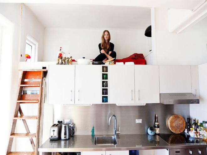 Gác lửng chìa khóa vạn năng của các căn hộ đẹp (3)