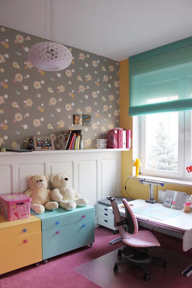 17 mẫu giấy dán tường cho phòng ngủ trẻ em đẹp (10)