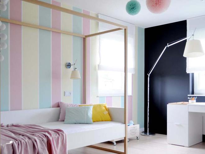 17 mẫu giấy dán tường cho phòng ngủ trẻ em đẹp (13)