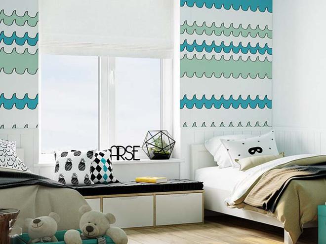 17 mẫu giấy dán tường cho phòng ngủ trẻ em đẹp (16)
