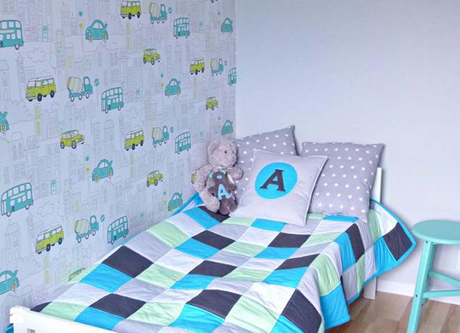 17 mẫu giấy dán tường cho phòng ngủ trẻ em đẹp (2)