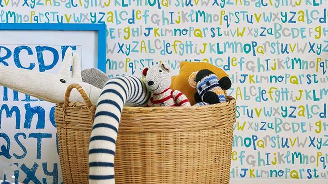 17 mẫu giấy dán tường cho phòng ngủ trẻ em đẹp (4)