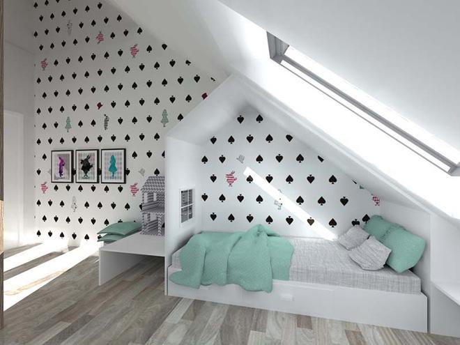 17 mẫu giấy dán tường cho phòng ngủ trẻ em đẹp (6)