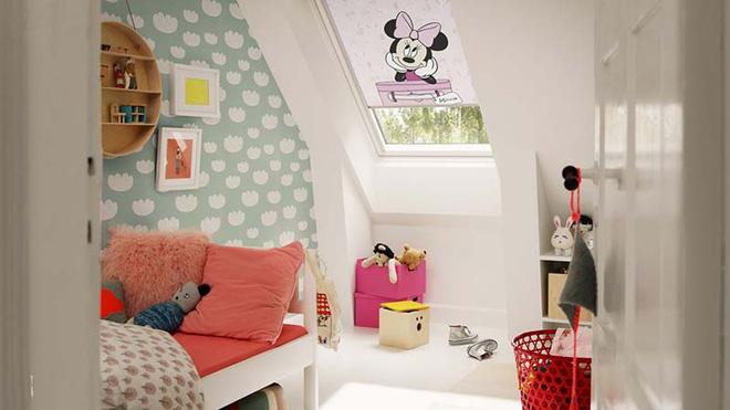 17 mẫu giấy dán tường cho phòng ngủ trẻ em đẹp (7)