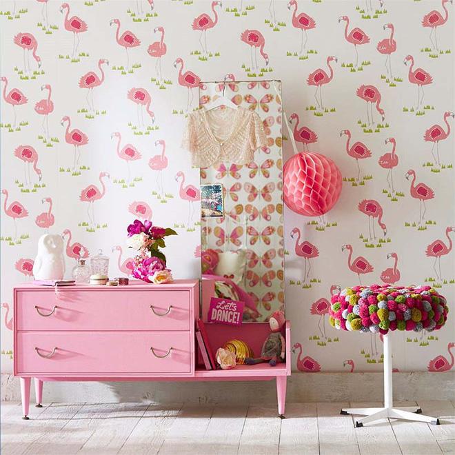 17 mẫu giấy dán tường cho phòng ngủ trẻ em đẹp (8)