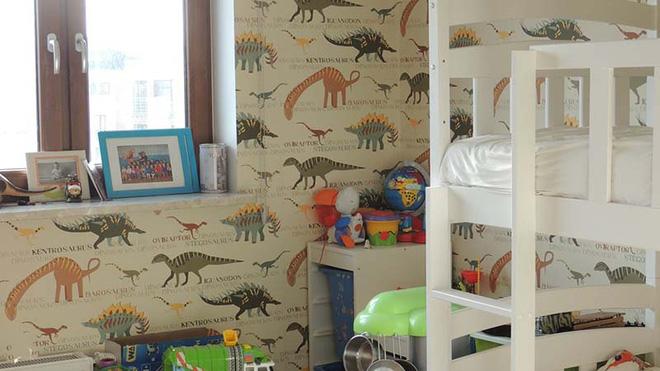 17 mẫu giấy dán tường cho phòng ngủ trẻ em đẹp (9)