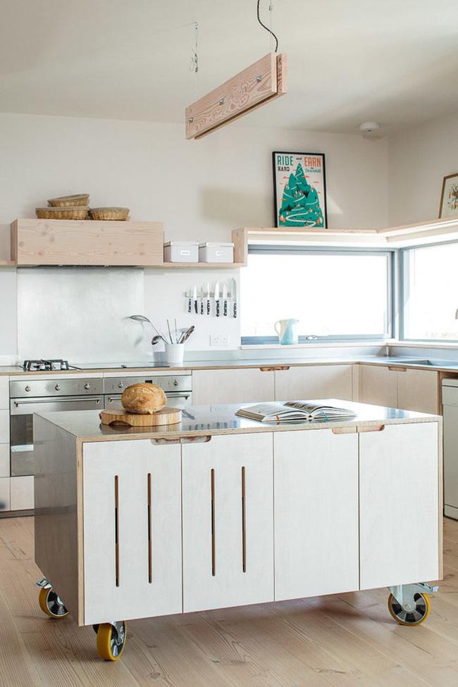 Đảo bếp di động cho không gian phòng bếp hiện đại (1)