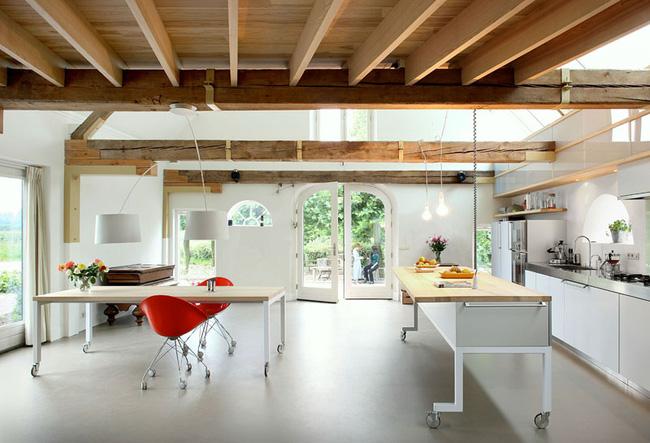 Đảo bếp di động cho không gian phòng bếp hiện đại (2)