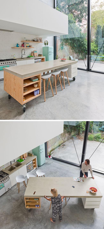 Đảo bếp di động cho không gian phòng bếp hiện đại (3)