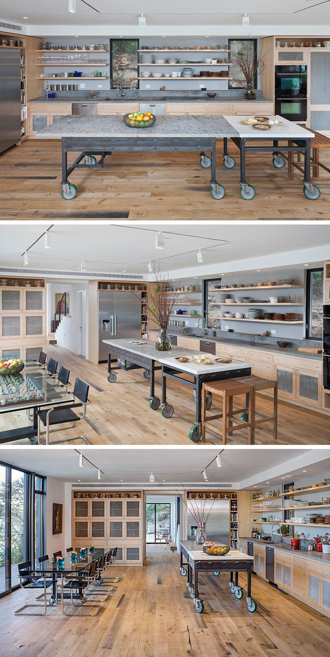 Đảo bếp di động cho không gian phòng bếp hiện đại (4)