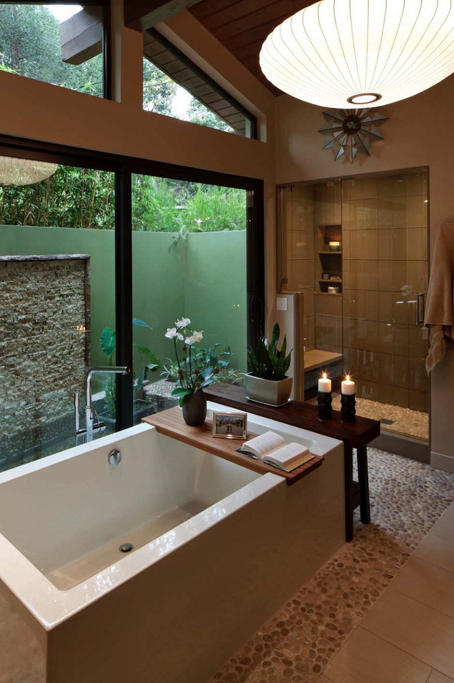 15 mẫu phòng tắm đẹp phong cách Midcentury (1)