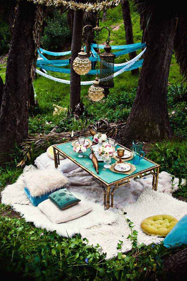 Cách trang trí sân vườn theo phong cách Bohemian (12)