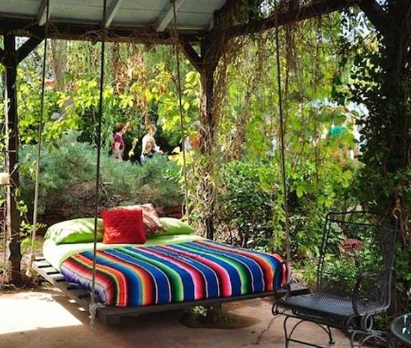 Cách trang trí sân vườn theo phong cách Bohemian (13)