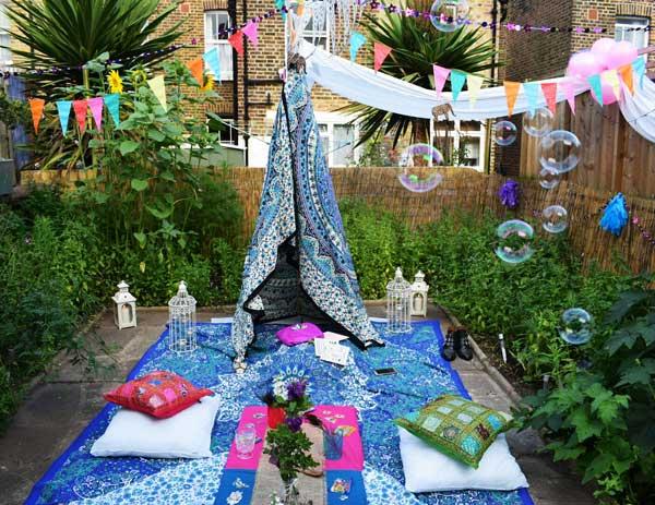 Cách trang trí sân vườn theo phong cách Bohemian (5)