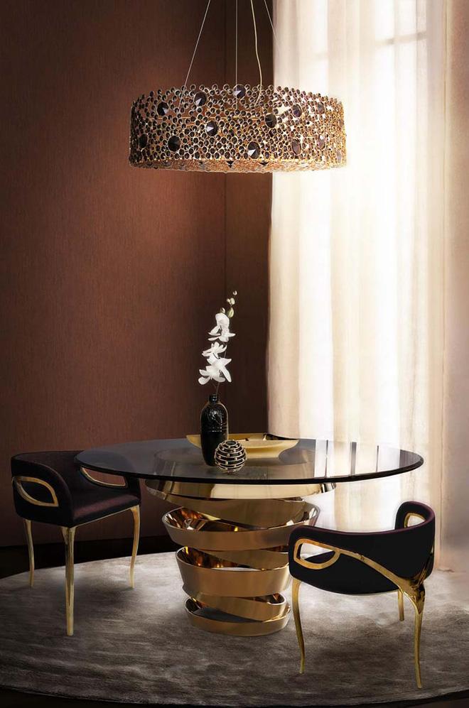Những mẫu bàn xa hoa nâng tầm cho không gian phòng ăn (11)