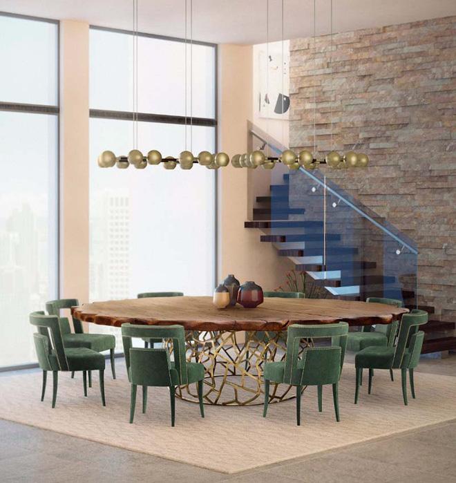 Những mẫu bàn xa hoa nâng tầm cho không gian phòng ăn (6)