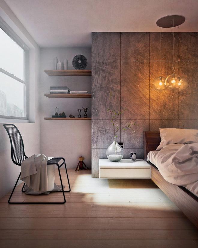 Những không gian phòng ngủ đẹp màu xám (1)