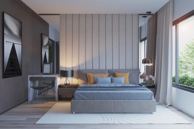 Những không gian phòng ngủ đẹp màu xám (11)