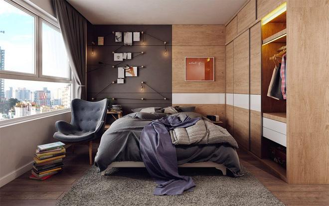 Những không gian phòng ngủ đẹp màu xám (13)