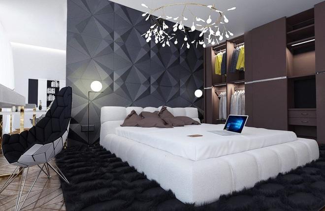 Những không gian phòng ngủ đẹp màu xám (2)