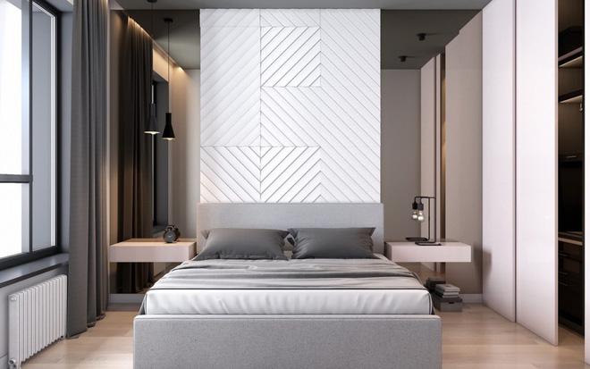 Những không gian phòng ngủ đẹp màu xám (6)