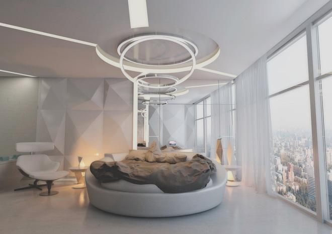 Những không gian phòng ngủ đẹp màu xám (7)