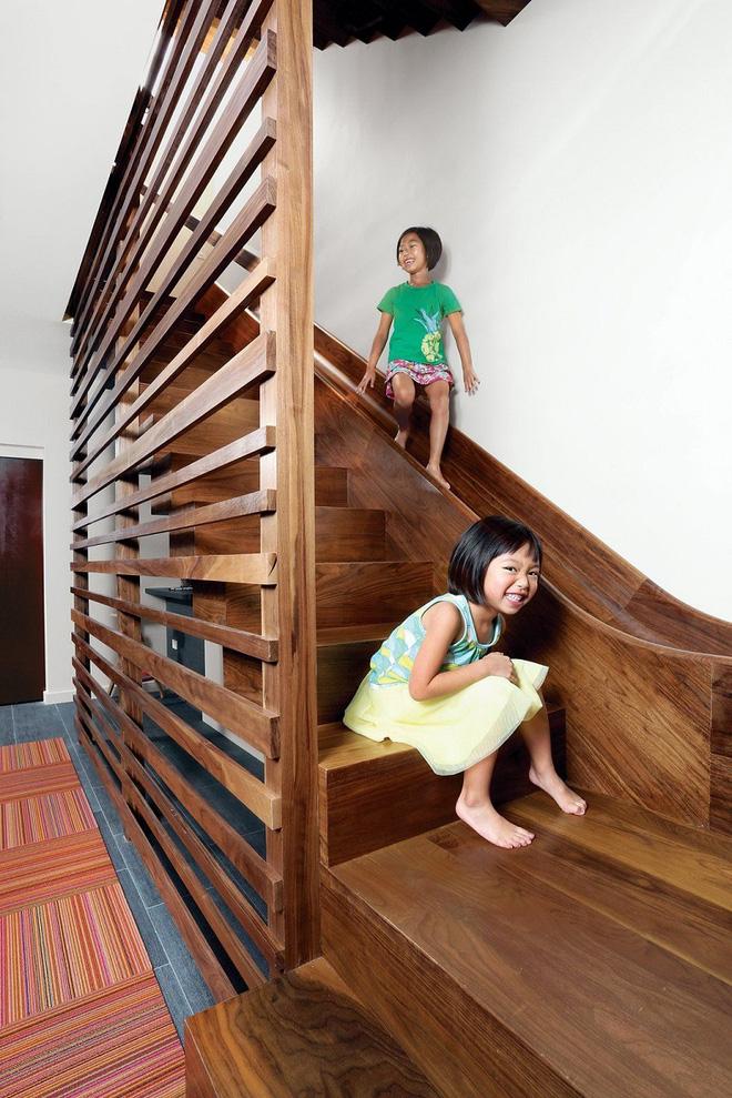 Những mẫu cầu thang đẹp kiêm khu vui chơi độc đáo cho trẻ (1)