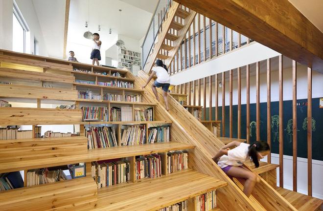 Những mẫu cầu thang đẹp kiêm khu vui chơi độc đáo cho trẻ (4)