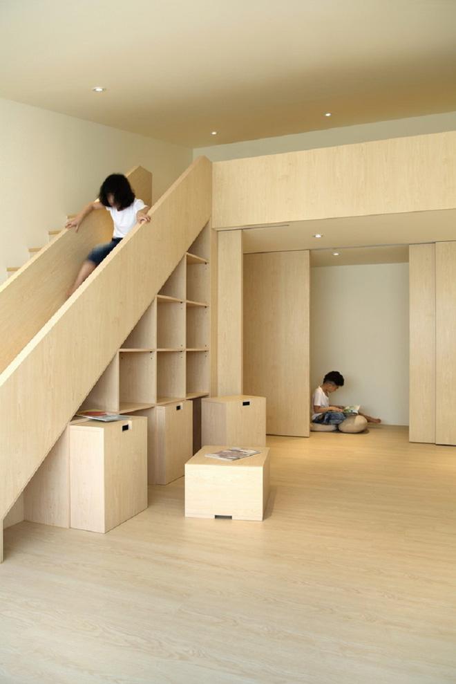 Những mẫu cầu thang đẹp kiêm khu vui chơi độc đáo cho trẻ (6)