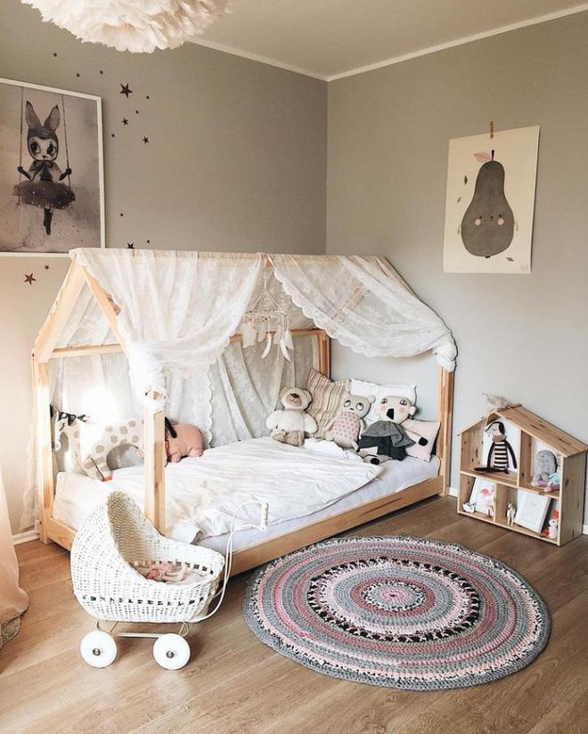 Những mẫu phòng ngủ cho bé gái đẹp (2)