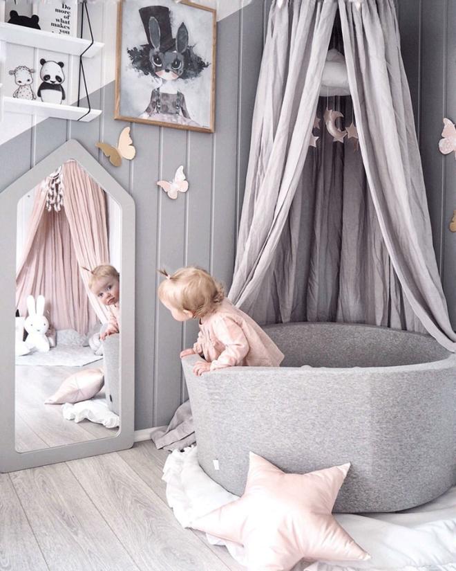 Những mẫu phòng ngủ cho bé gái đẹp (3)