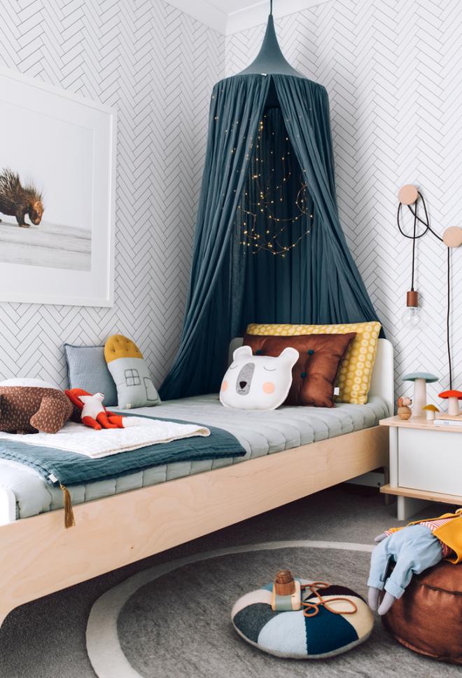 Những mẫu phòng ngủ cho bé gái đẹp (5)