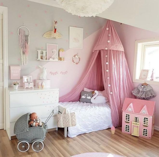 Những mẫu phòng ngủ cho bé gái đẹp (6)