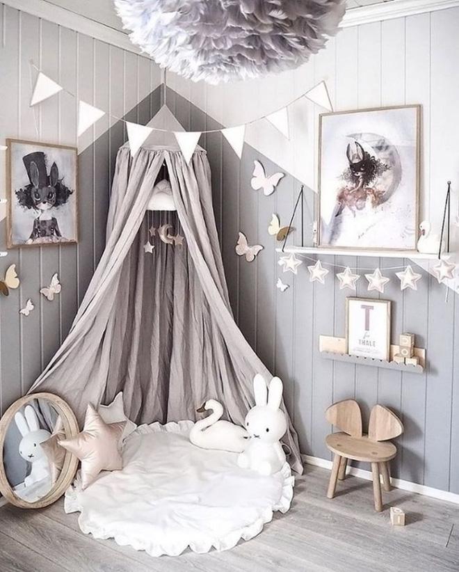 Những mẫu phòng ngủ cho bé gái đẹp (7)
