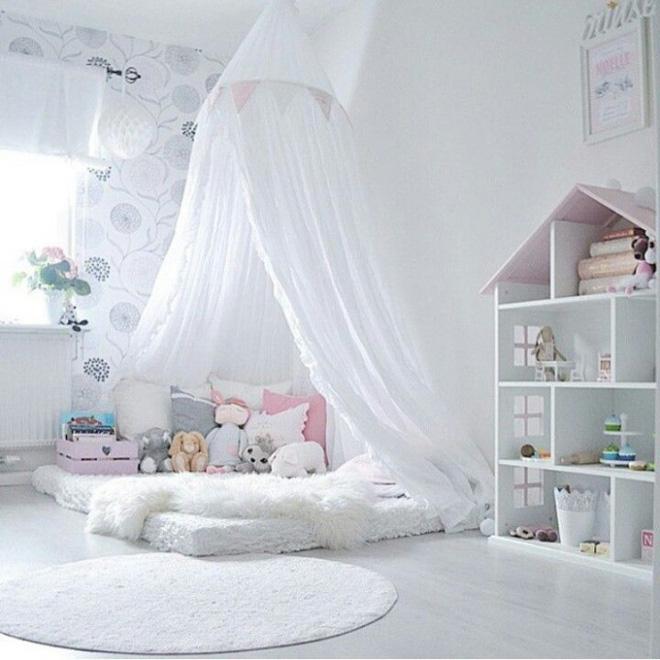 Những mẫu phòng ngủ cho bé gái đẹp (8)