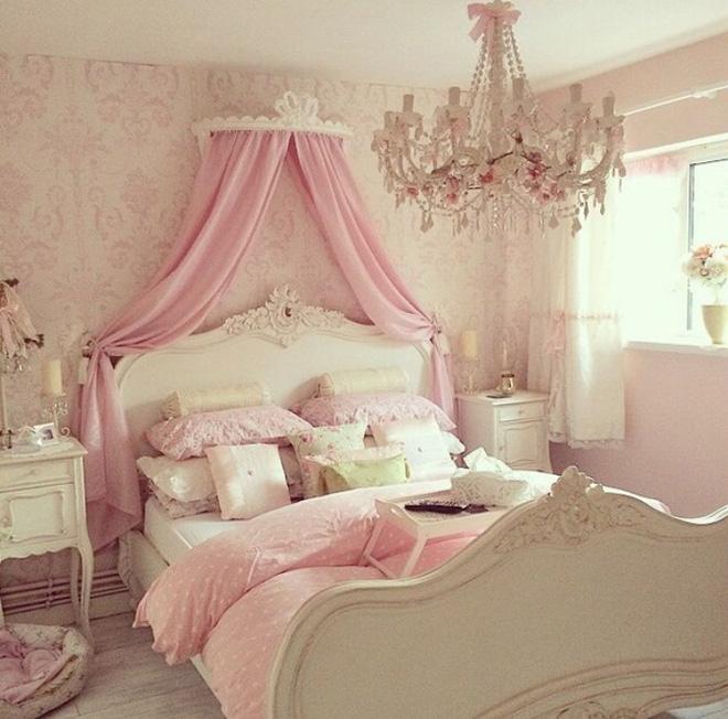 Những mẫu phòng ngủ cho bé gái đẹp (10)