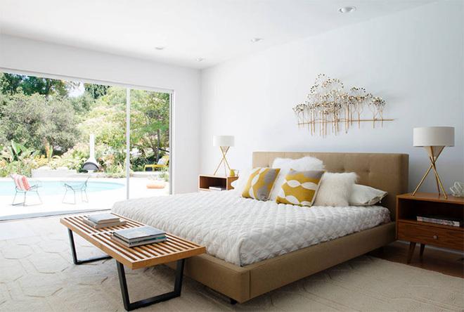Mẫu phòng ngủ phong cách Midcentury (10)