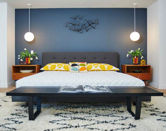 Mẫu phòng ngủ phong cách Midcentury (14)