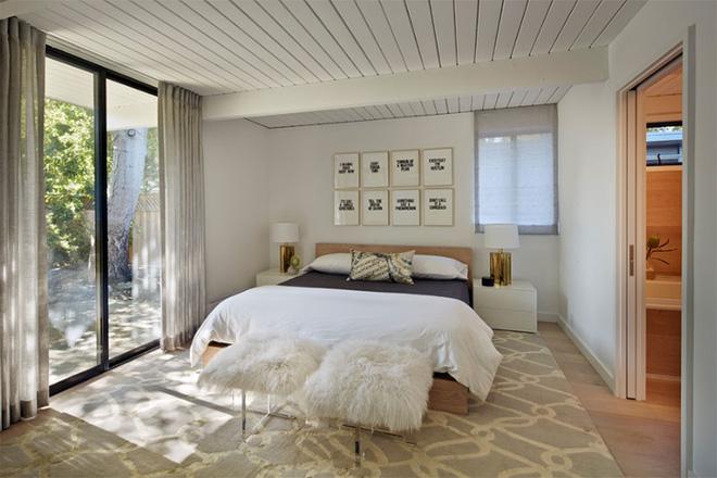 Mẫu phòng ngủ phong cách Midcentury (2)