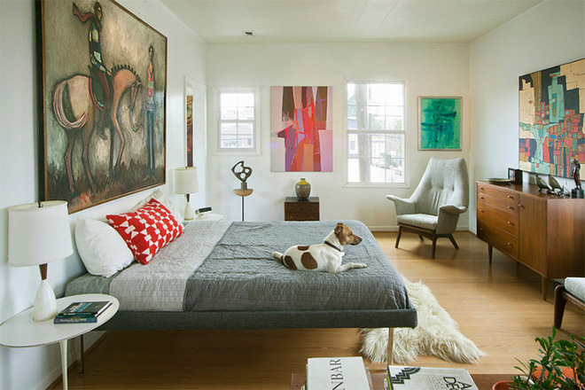 Mẫu phòng ngủ phong cách Midcentury (4)