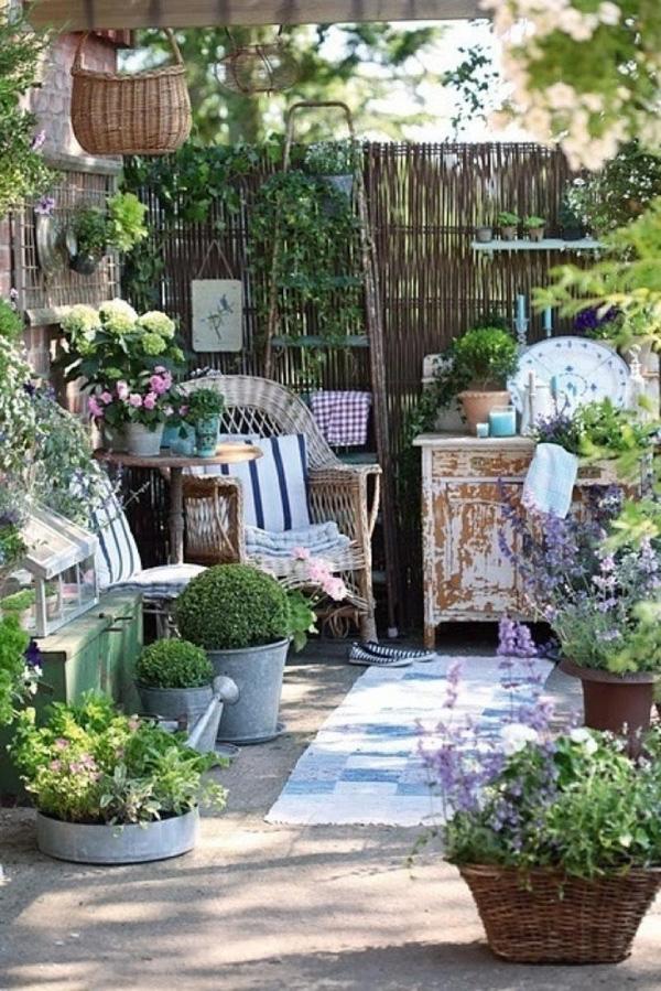 15 thiết kế sân vườn ứng dụng phong cách đồng quê Pháp (4)
