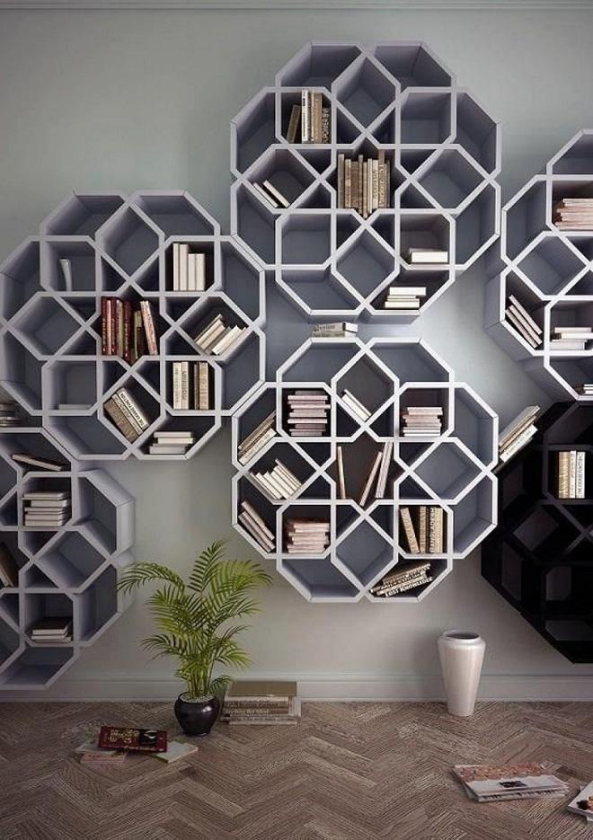 Thiết kế giá sách đẹp trang trí nhà với 5 ý tưởng độc đáo (2)