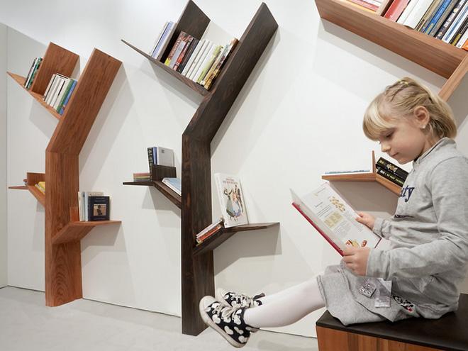 Thiết kế giá sách đẹp trang trí nhà với 5 ý tưởng độc đáo (3)
